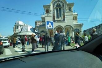 Un preot din Constanța a fost amendat cu 2.000 de lei, după ce a oficiat o slujbă religioasă