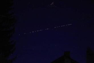 La ce oră poți vedea sateliții Starlink pe cer, în funcție de locul în care te afli