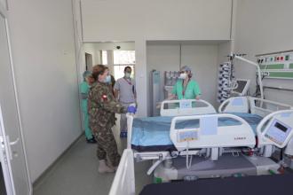 Vești bune de la Spitalul Militar de Urgență. Secția ATI a spitalului Rol 2 e operațională