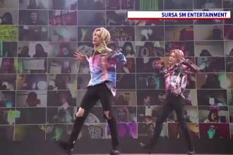 O trupă sud-coreeană de pop a realizat un concert virtual ieșit din comun