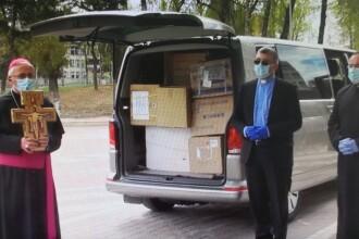 Donația Papei Francisc a ajuns la Spitalul Județean Suceava. Ce mesaj a transmis Suveranul Pontif