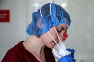 """Un al doilea medic infectat cu coronavirus a """"căzut"""" de la fereastra unui spital din Rusia"""