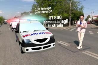 Filtrele de poliţie vor împânzi toată ţara de 1 mai. În ce condiții puteți face grătar