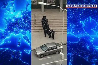 Ore tensionate în Tulcea. Un individ a anunțat că e înarmat și are mai mulți ostatici