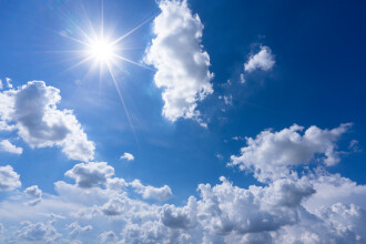 Vreme frumoasă în aproape toată țara. În weekend, temperaturi de 20 de grade