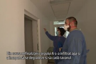 """Ani de zile, spitalul din Piatra Neamț a fost căpușat, iar oamenii au murit: """"Este o pușculiță"""""""