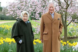 Regina Elisabeta și Prințul Charles marchează Paștele cu imagini rare