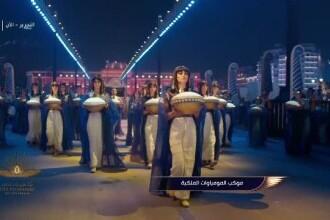 Ceremonie spectaculoasă în Cairo. 22 de mumii au fost mutate într-un nou muzeu