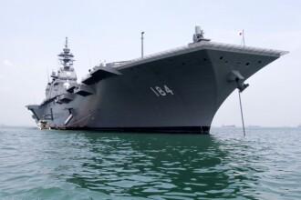 Japonia a trimis un distrugător, după ce a văzut un portavion al Chinei în zona apelor Okinawa