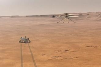 O nouă misiune istorică pregătită de NASA. Elicopterul cu care va explora planeta Marte