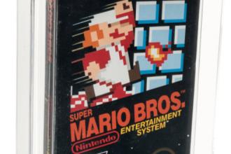 """Un joc """"Super Mario Bros"""" a devenit cel mai scump din lume. A fost vândut cu 660.000 de euro"""