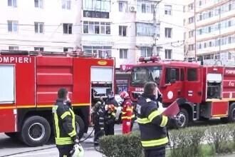 Alarmă de incendiu la Judecătoria din Târgoviște. Pompierii au intervenit de urgență