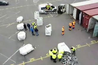 Containere cu deșeuri din Germania și Canada, descoperite în Portul Agigea Sud