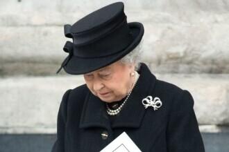 Regina Elisabeta, în lacrimi la înmormântarea soțul ei. Imaginea care a emoționat întreaga planetă. FOTO
