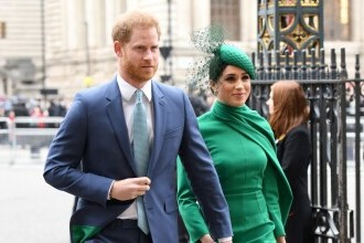 Prințul Harry și soția sa, Meghan, i-au adus un omagiu virtual prințului Philip