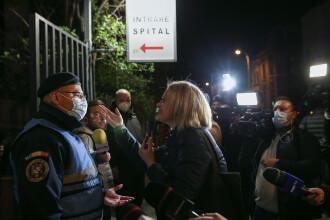 Mai mulți oameni au protestat, după ce pacienții din Spitalul Foișor din Capitală au fost transferați. Ce spune Raed Arafat