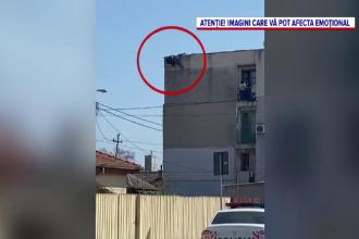 O femeie din Constanța s-a aruncat de pe un bloc, în fața a zeci de oameni. Iubita ei ar fi înșelat-o cu un bărbat