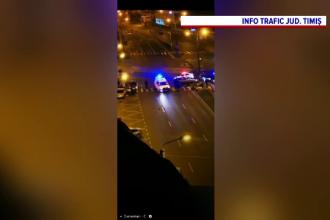 O bătaie care a avut loc pe o trecere de pietoni din Timișoara, oprită de Trupele Speciale. Cine erau protagoniștii