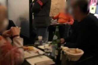 Amenzi într-un restaurant plin cu clienți în Franța. Teoretic, toate localurile sunt închise de săptămâna trecută