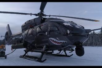 Cel mai silențios elicopter din lume a fost prezentat oficialilor români