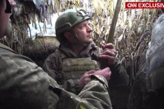 """Rusia și Occidentul, amenințări pe tema situației din estul Ucrainei. Zelenski: """"Militarii sunt epuizați"""""""
