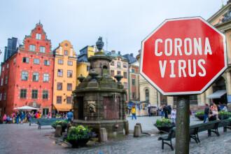 Suedia a înregistrat cele mai multe cazuri noi de Covid pe cap de locuitor din Europa