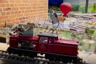 A fost bătut recordul mondial pentru cea mai lungă melodie cântată de un tren de jucărie