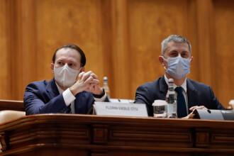 Criză politică. Surse: USR-PLUS a discutat despre o moțiune de cenzură împotriva lui Cîțu