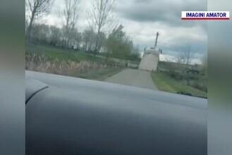 Un șofer a fost păcălit de o aplicație și a ajuns pe un pod care s-a surpat cu el