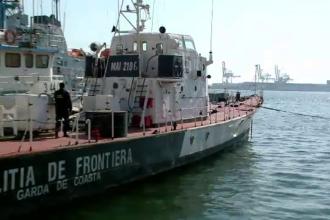 Focuri de armă în Portul Constanța, pentru prinderea a patru egipteni contrabandiști
