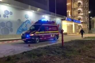 Alarmă de incendiu la Spitalul Județean de Urgență din Bacău