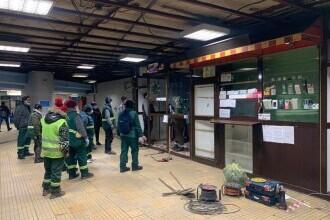 Ministrul Drulă: Vineri, 63 de chioșcuri au fost desființate în 10 stații de metrou