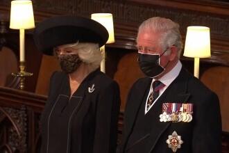 Imaginile durerii. Gestul făcut de Charles și Camilla înainte de înmormântarea Prințului Philip