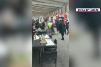 Ce spune martorul care a filmat momentul în care bărbatul din Pitești a murit în timp ce era imobilizat de polițiști