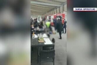Bărbatul din Pitești a avut un sfârșit violent și a murit asfixiat. Doi polițiști, reținuți