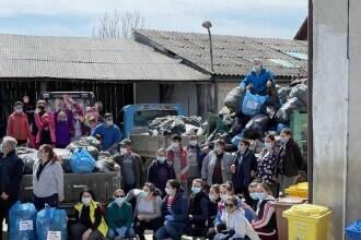 Aproximativ 5.000 de voluntari au luat parte la cea mai amplă campanie de curățenie din Țara Făgărașului