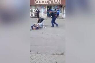 Răfuială violentă între un bărbat și o femeie, la punctul de trecere cu bacul între Galați și Tecuci