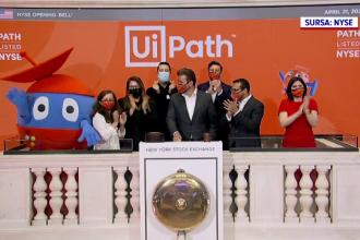 """Care este povestea companiei UiPath, listată la cea mai mare bursă de valori de pe glob: """"Ne mândrim"""""""