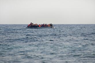 O ambarcațiune cu 130 de migranți s-a scufundat în Mediterană. Nu au fost găsiți supraviețuitori