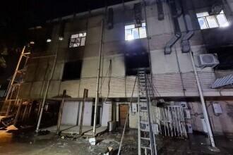 Incendiu într-un spital Covid din Irak. Cel puțin 82 de persoane au murit. GALERIE FOTO