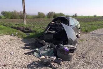 Accident grav în Prahova. Doi pasageri au murit pe loc, șoferul a fost grav rănit