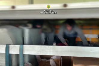 11 migranți, prinși de polițiști în timp ce încercau să treacă ilegal granița. Unde se ascundeau