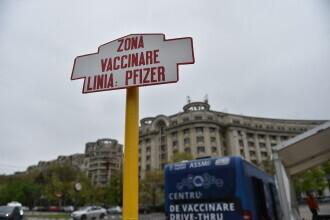 Primul centru de vaccinare drive-through din București. Tot ce trebuie să știi despre centrul din Piața Constituției