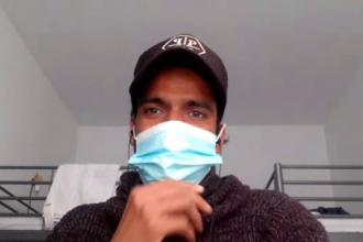 Prima reacție a muncitorului infectat cu o tulpină indiană de coronavirus. În ce stare se află