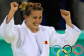 Judoka Alina Dumitru a câştigat aurul în finala categoriei 48 kg de la J.O!