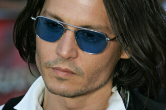 Johnny Depp are statuie in Serbia