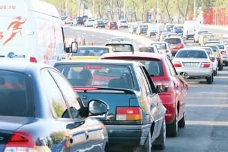Politistii se asteapta la trafic de cosmar duminica pe DN1