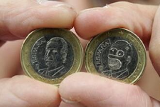 Homer Simpson este imprimat pe monedele de un euro