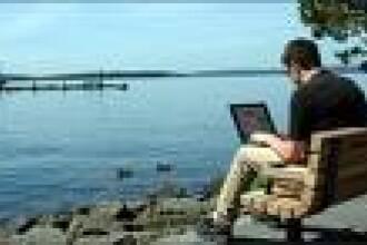 Internet doar cu laptopul in zonele verzi din Capitala!