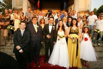 Doroftei si Leu, doi grei la nunta sotilor Maruta!